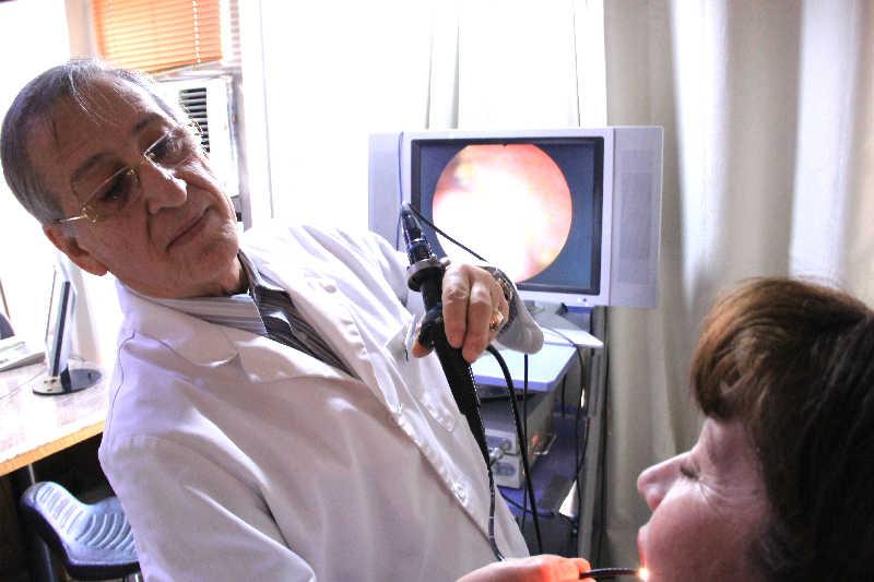 7. Nasolaringoscopia